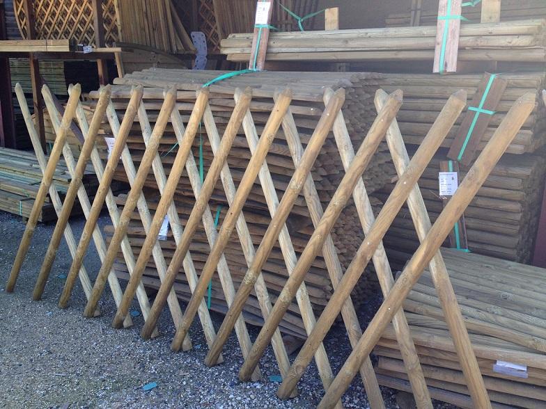 Barri re croisillons lavaud piquets for Portail hauteur 2m50