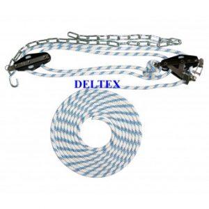 Mouflage fil polyester DELTEX