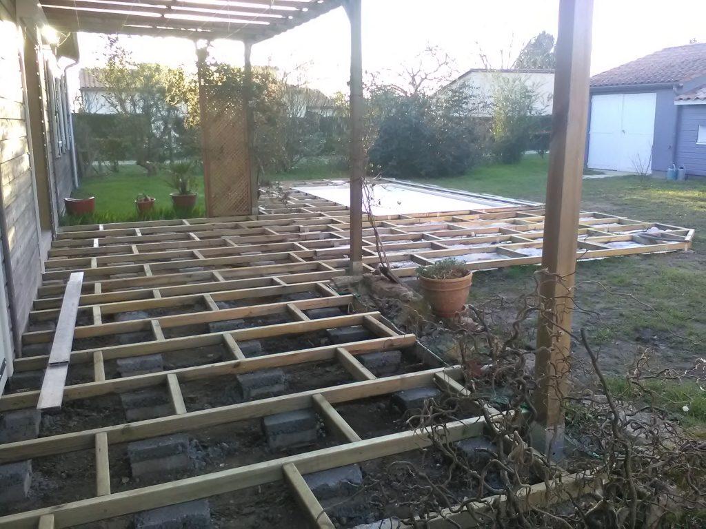 Structure de terrasse